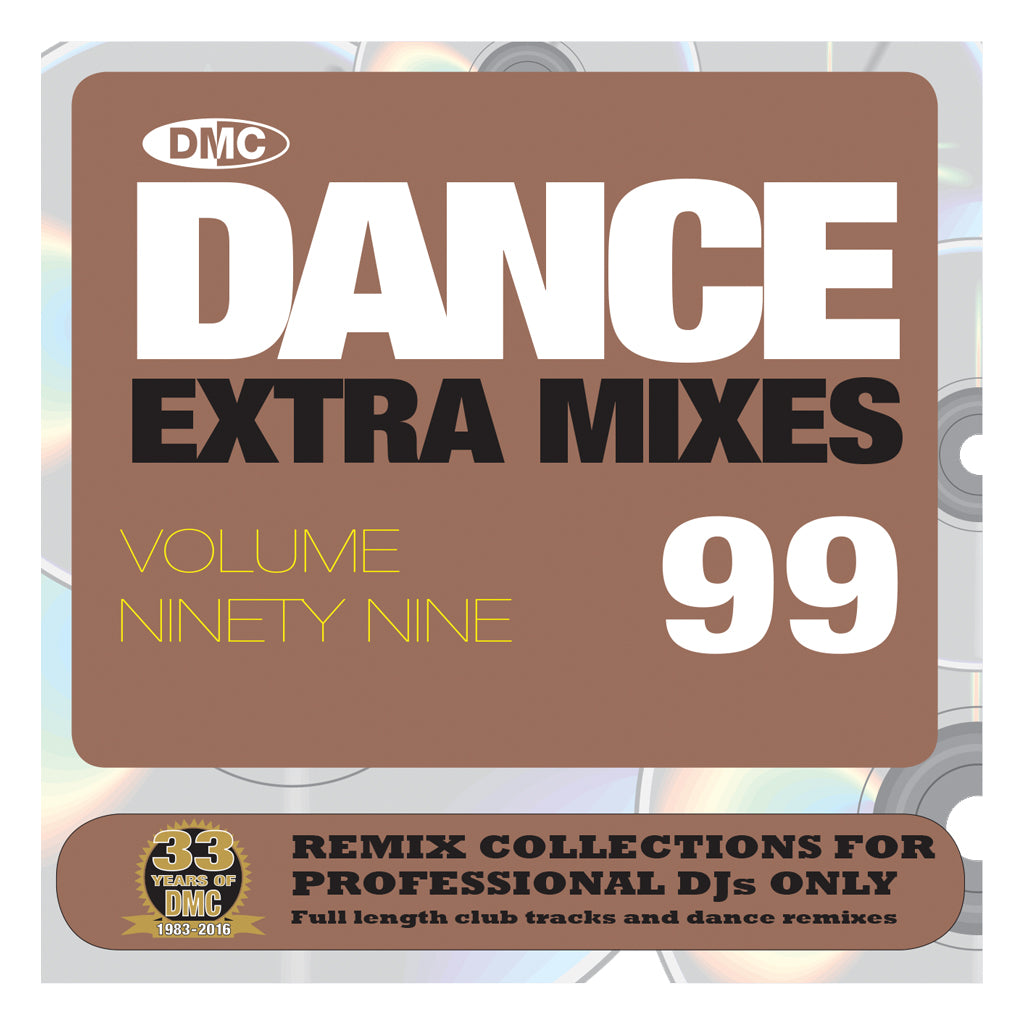 DMC Dance Extra Mixes 99 - Mid March 2016 release