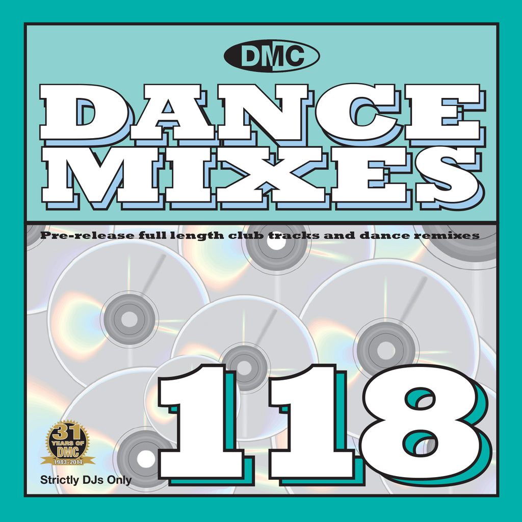 DMC DANCE MIXES 118 - NEW AUGUST RELEASE