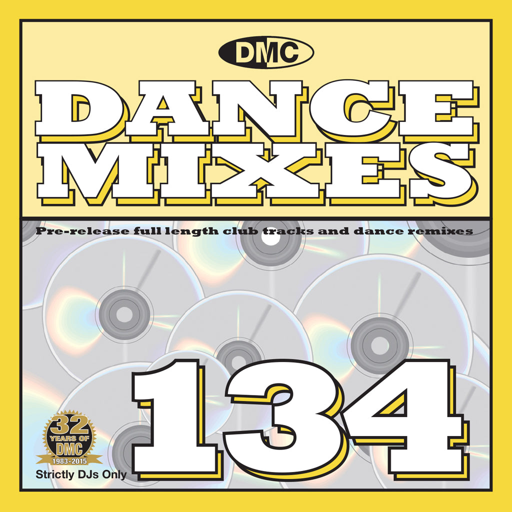 DMC Dance Mixes 134 - April mid month release