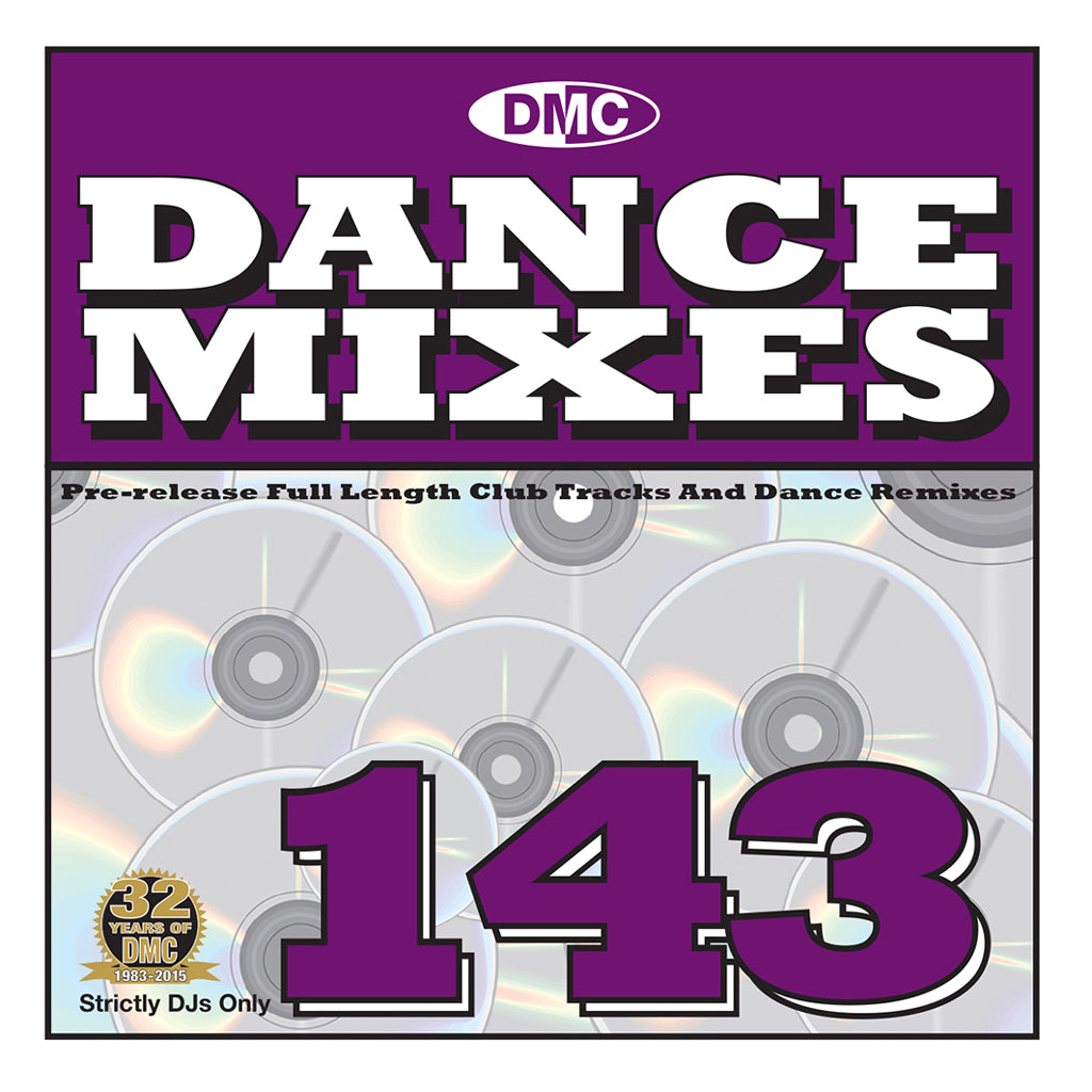 DMC Dance Mixes 143 - September Release