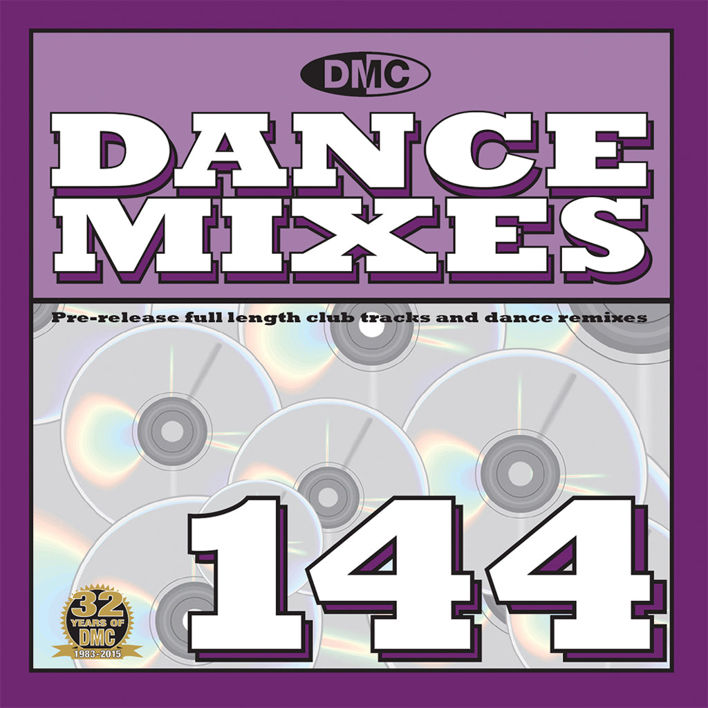 DMC Dance Mixes 144 - Mid-September Release