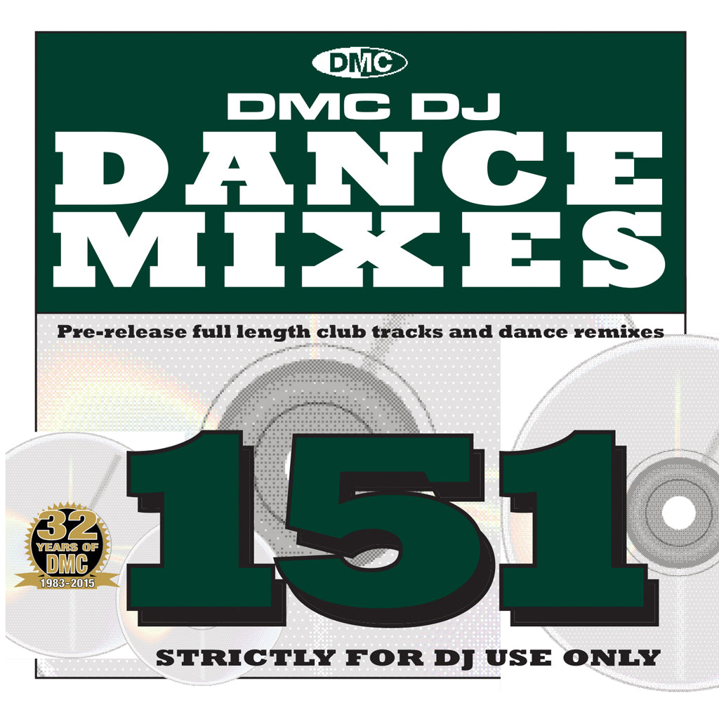 DMC Dance Mixes 151 - January 2016 Release