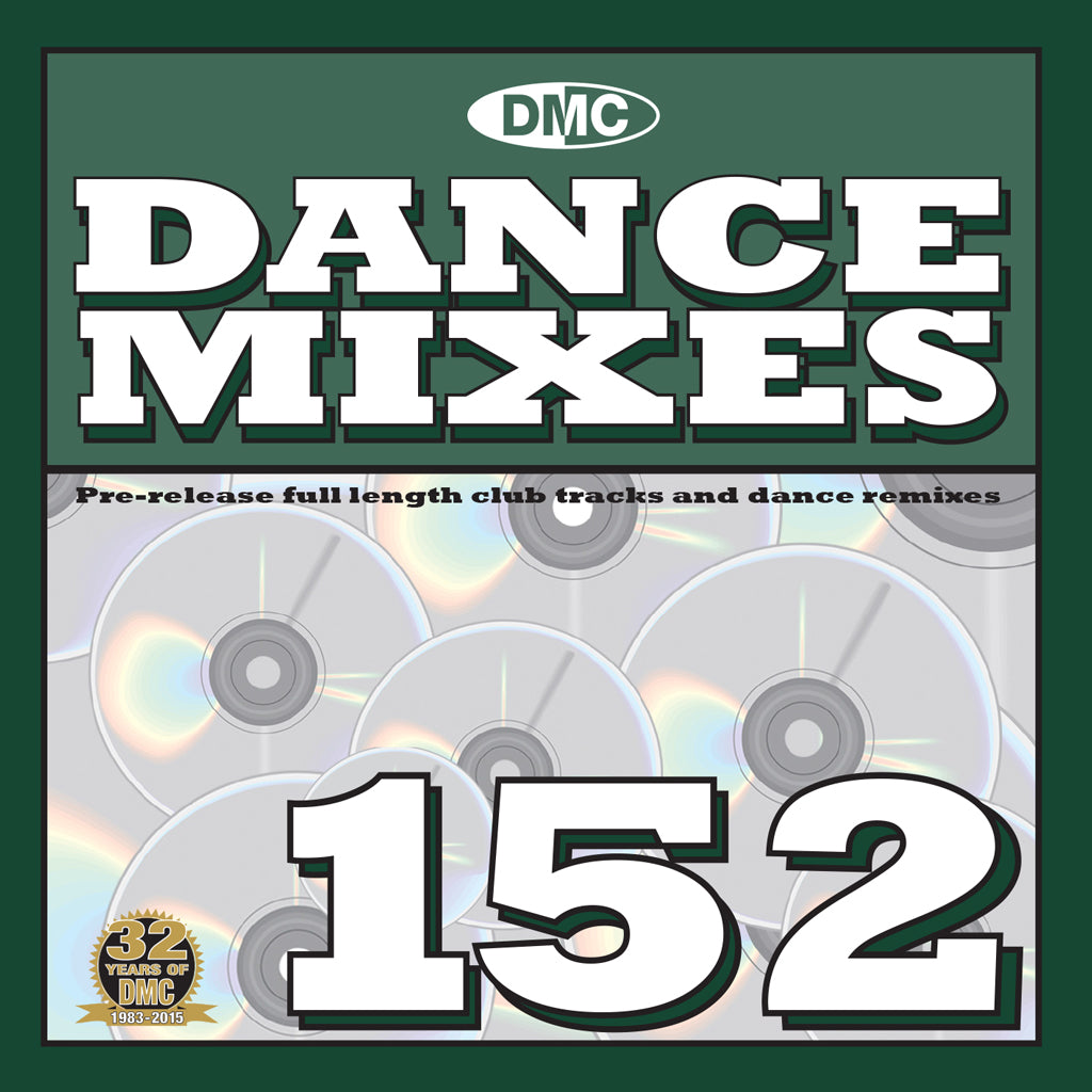 DMC Dance Mixes 152 - Mid - January  Release