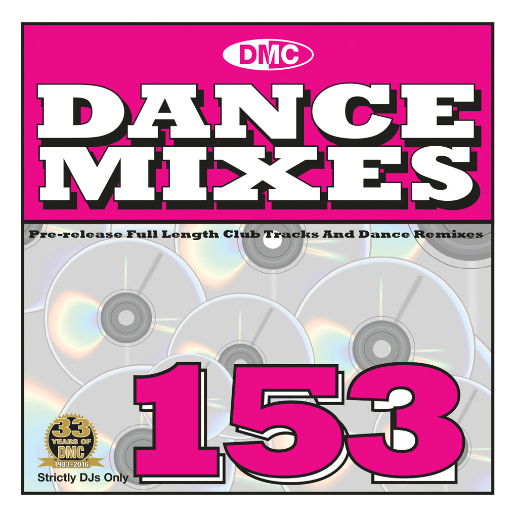DMC Dance Mixes 153 - February 2016  Release