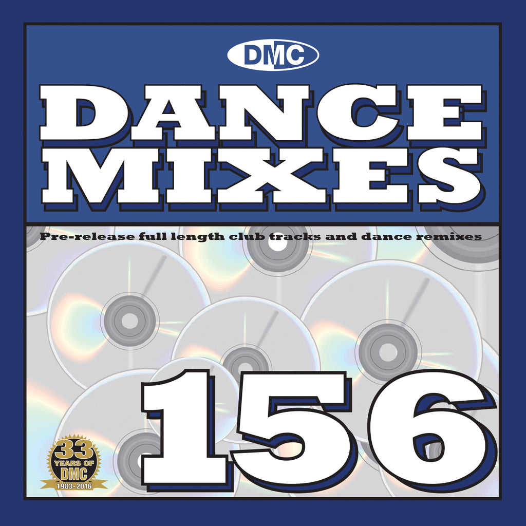 DMC Dance Mixes 156 - Mid March 2016 release
