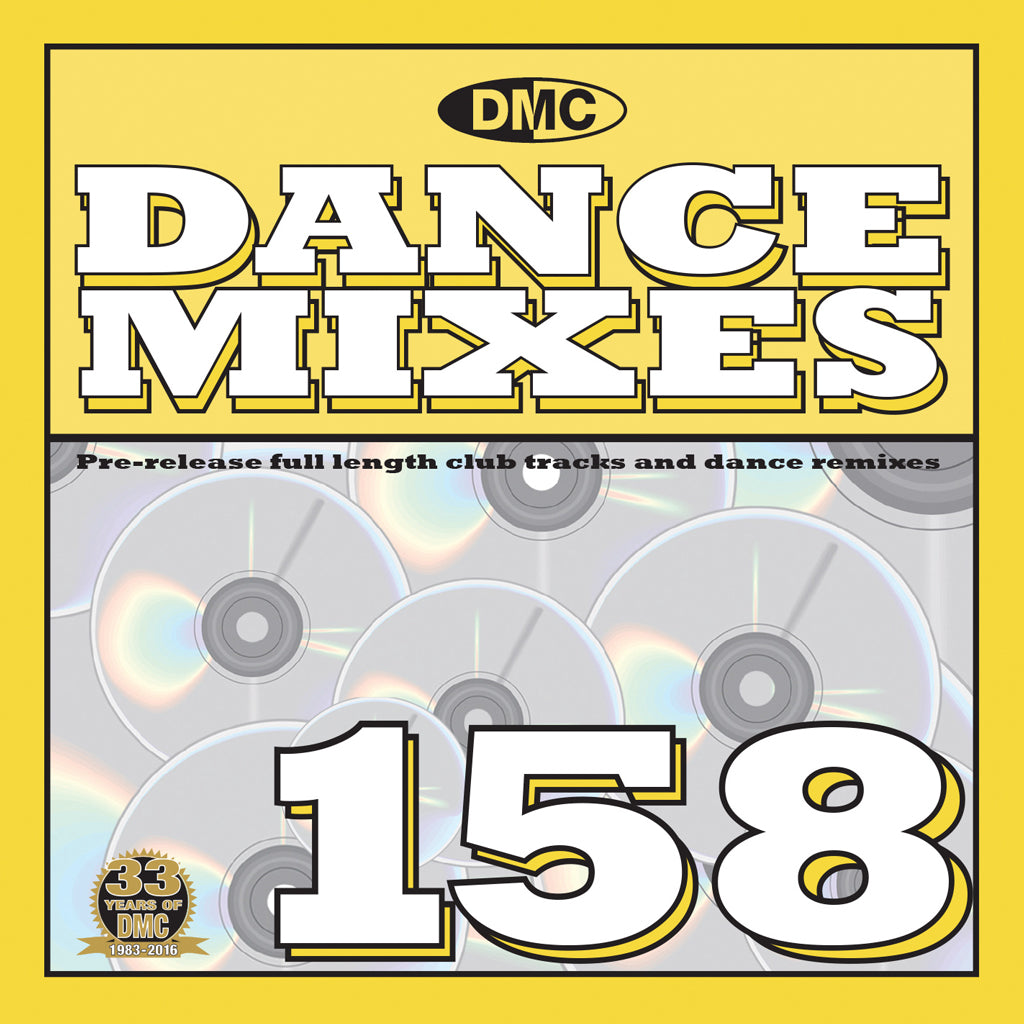 DMC Dance Mixes 158 - Mid April 2016 release
