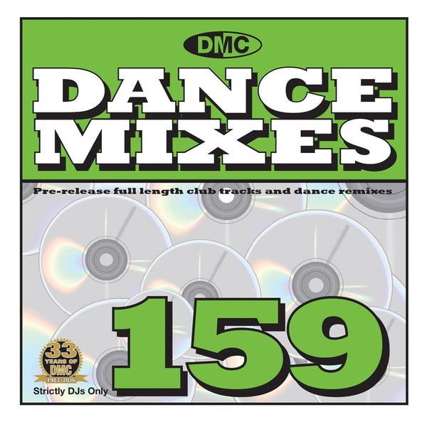 DMC Dance Mixes 159 - May 2016 release