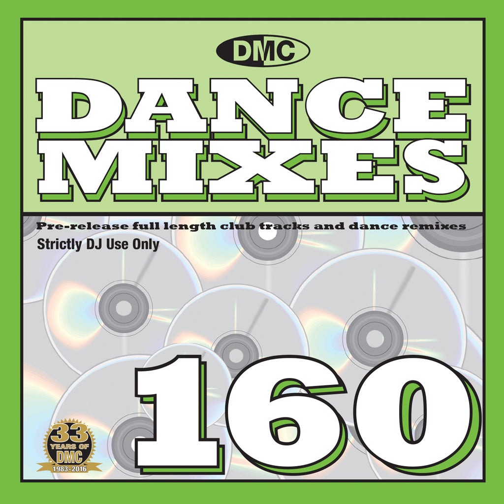 DMC Dance Mixes 160 - Mid May 2016 release