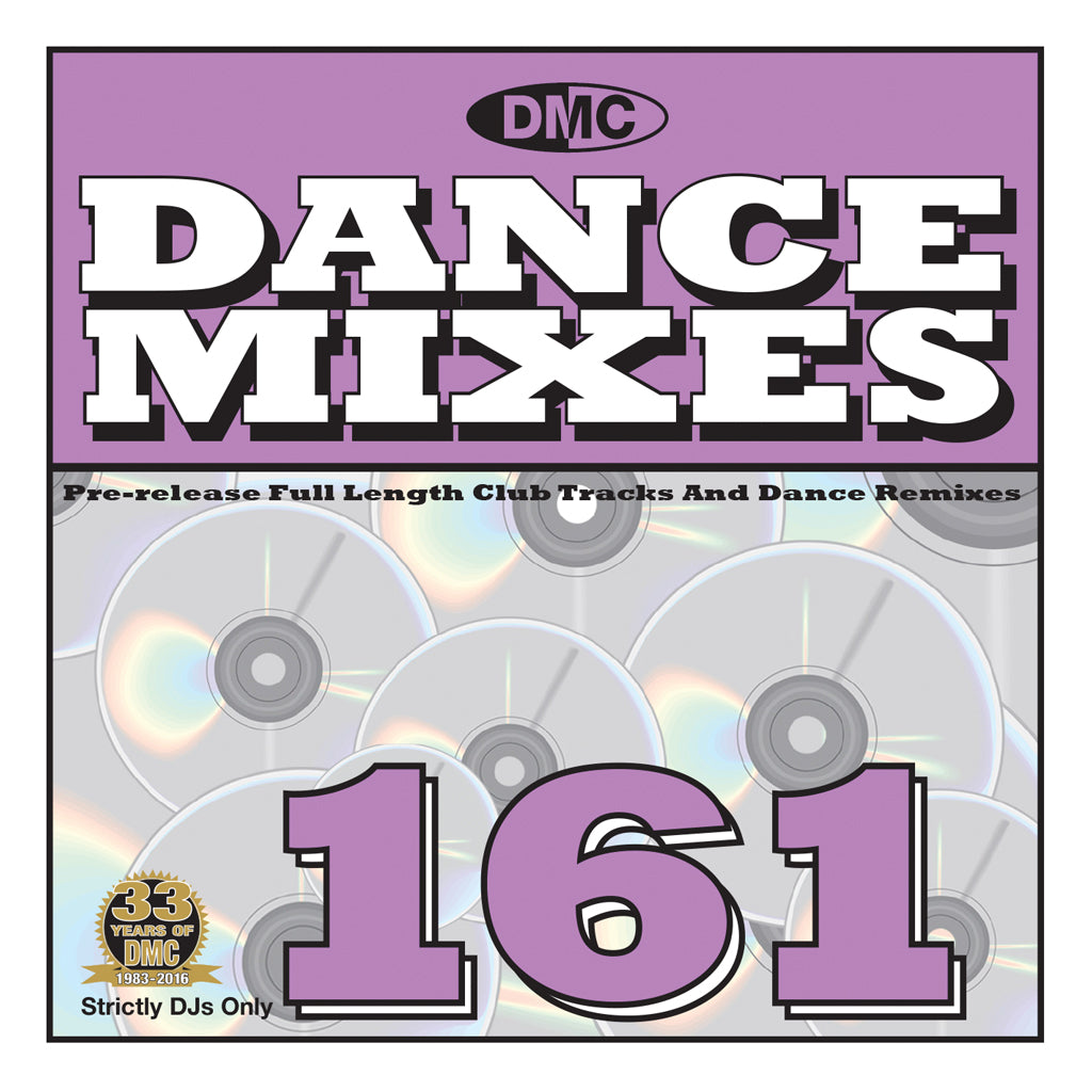 DMC Dance Mixes 161 - Bi-Monthly Pre-Release Full Length Club Tracks and Dance Remixes - JUNE 2016 release
