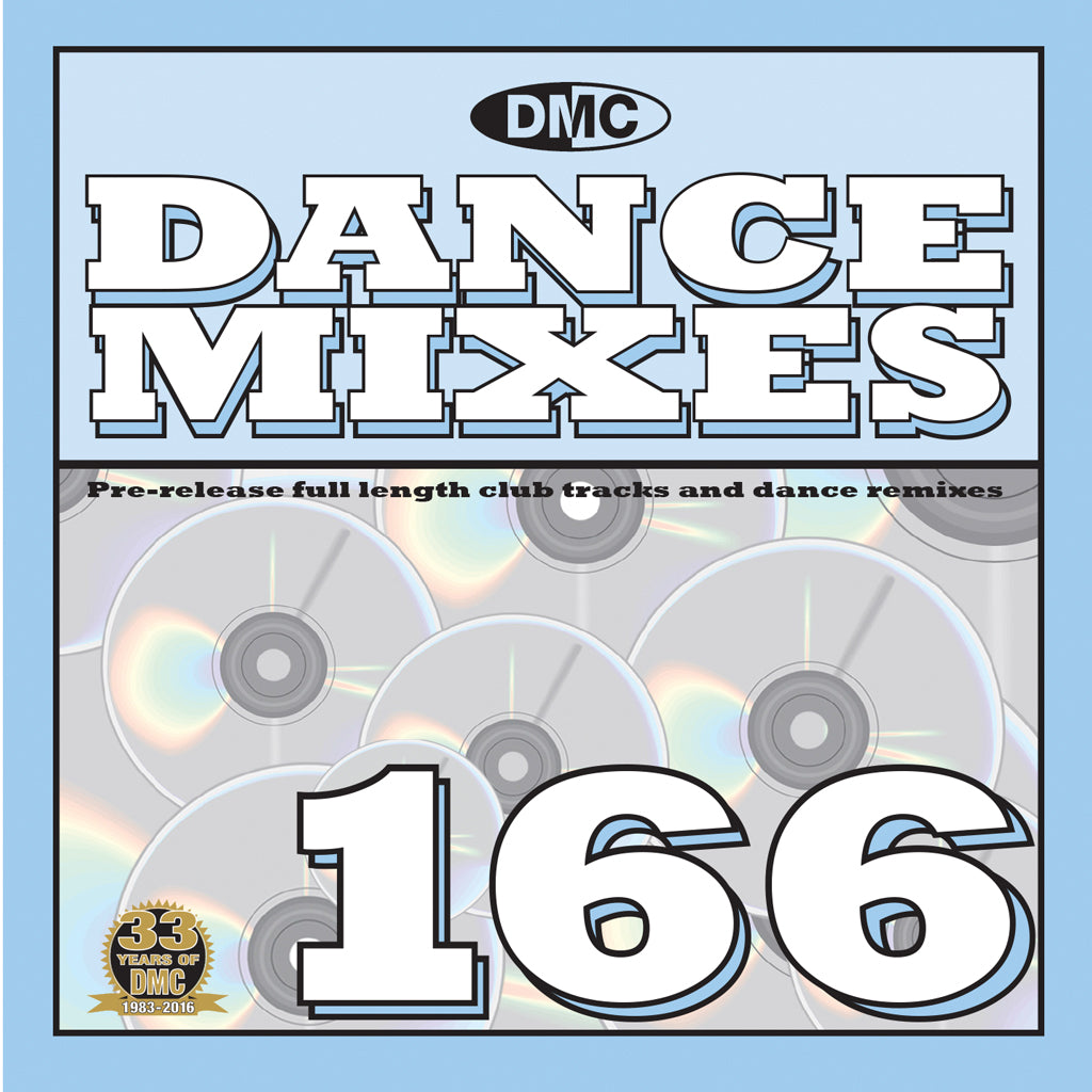 DMC Dance Mixes 166 - mid August 2016 release