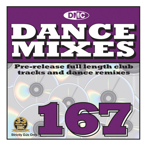DMC Dance Mixes 167 - September 2016 release