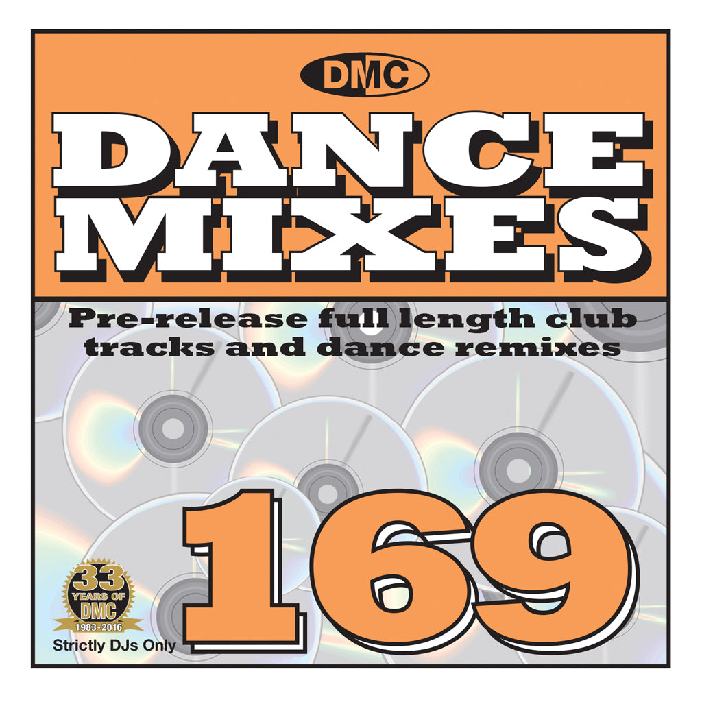 DMC Dance Mixes 169 - October 2016 release