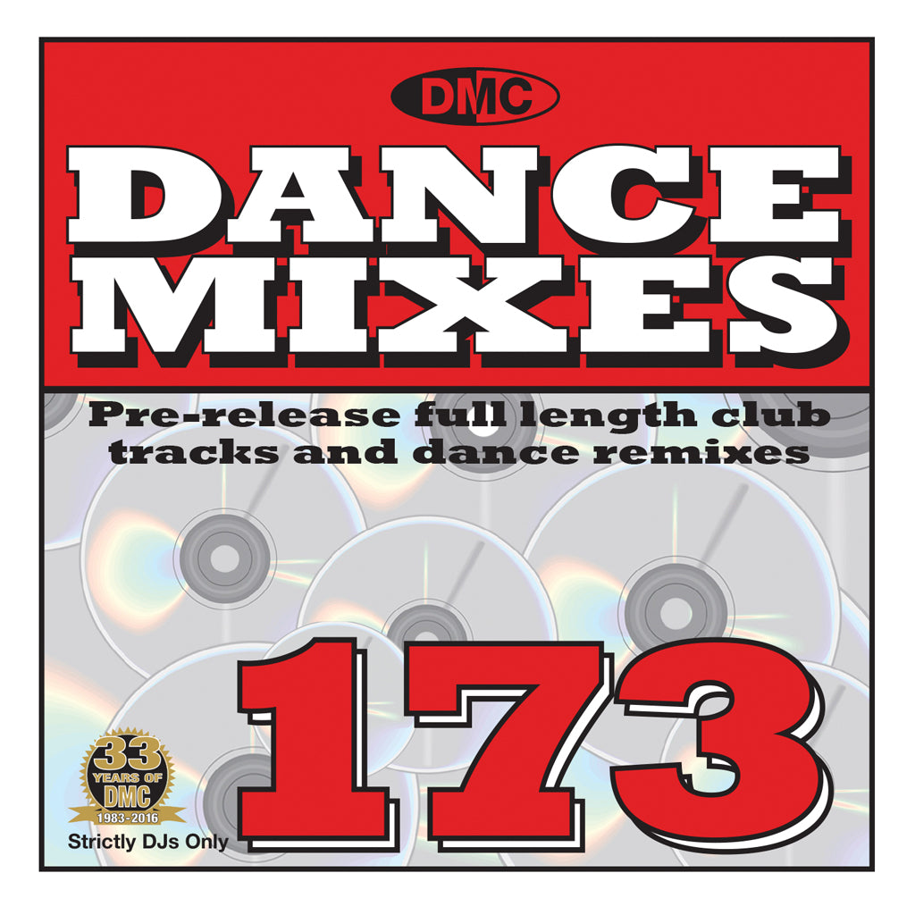 DMC Dance Mixes 173 -December 2016 release
