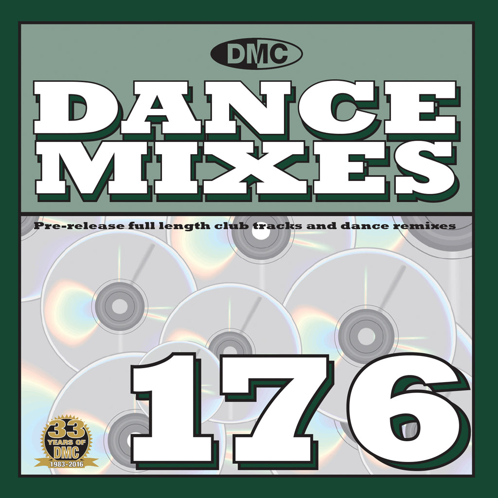 DMC Dance Mixes 176 - MID - JANUARY 2017 release