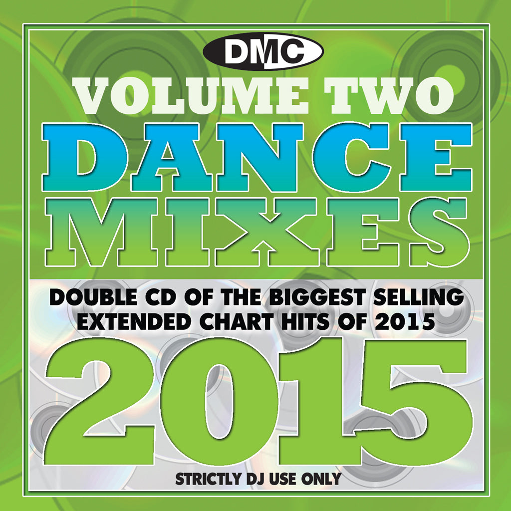 DMC Dance Mixes 2015 Volume 2 - Double CD - New Release