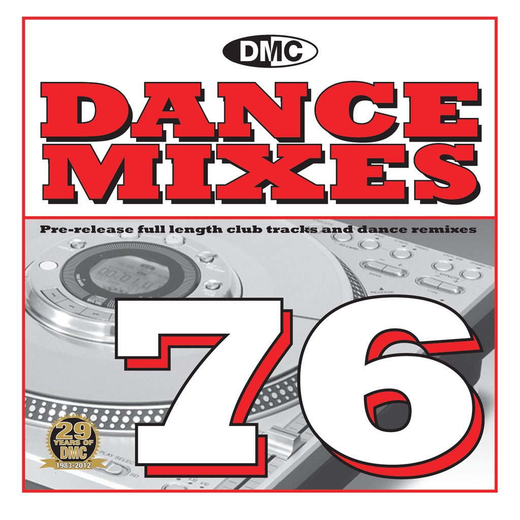 DMC Dance Mixes 76 - New Release
