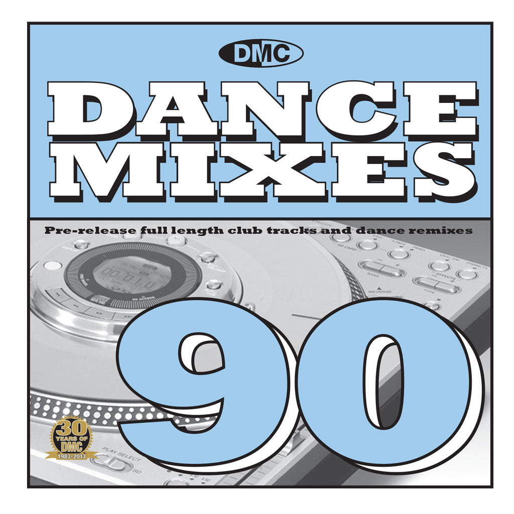 DMC Dance Mixes 90 - New Release