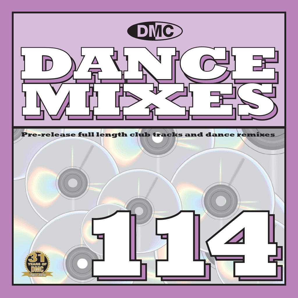 DMC Dance Mixes 114 - June Release