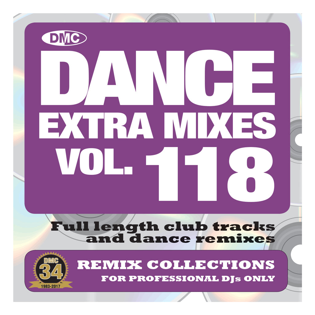 DMC DANCE EXTRA MIXES 118 -  Mid September 2017 Release