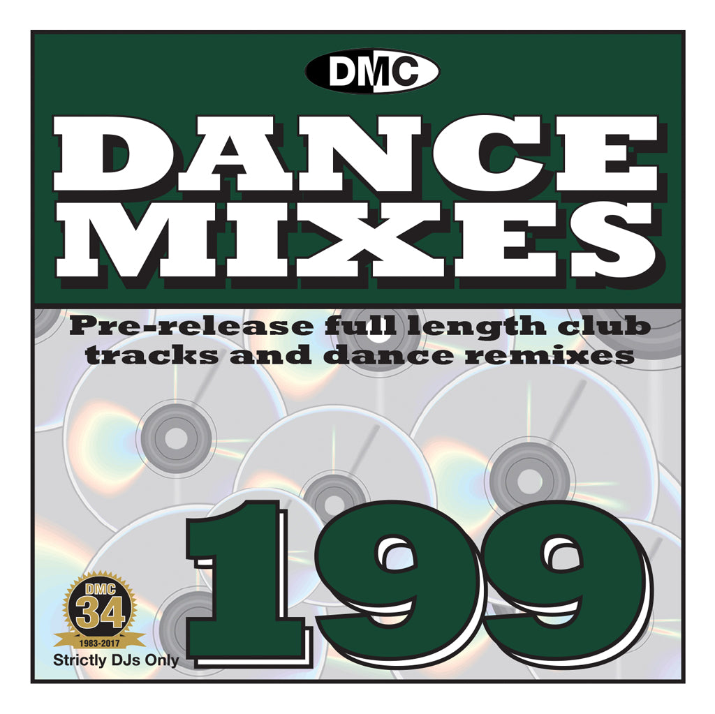DANCE MIXES 199  PRE-RELEASE FULL LENGTH CLUB TRACKS AND DANCE REMIXES - MID JANUARY 2018