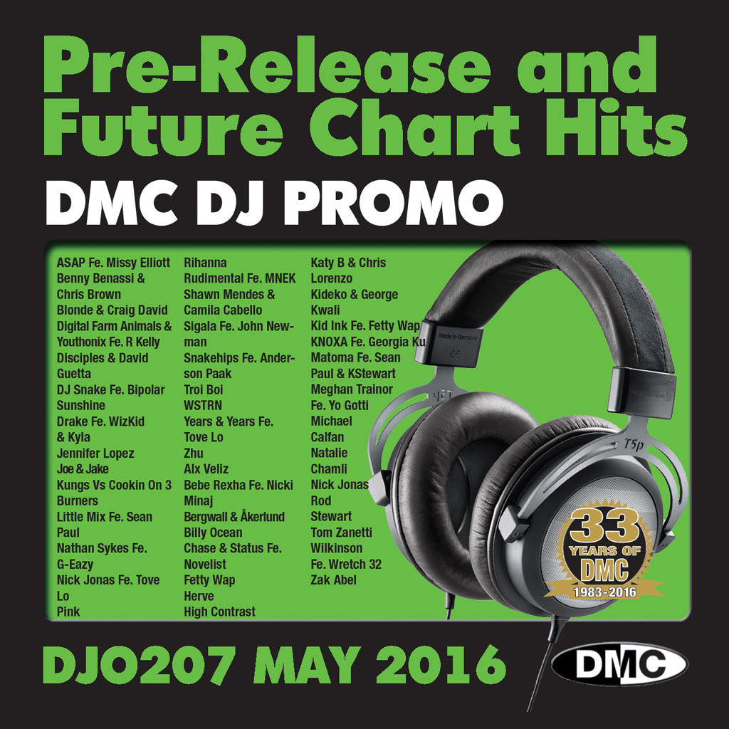 DMC DJ Promo 207 - May 2016 Release