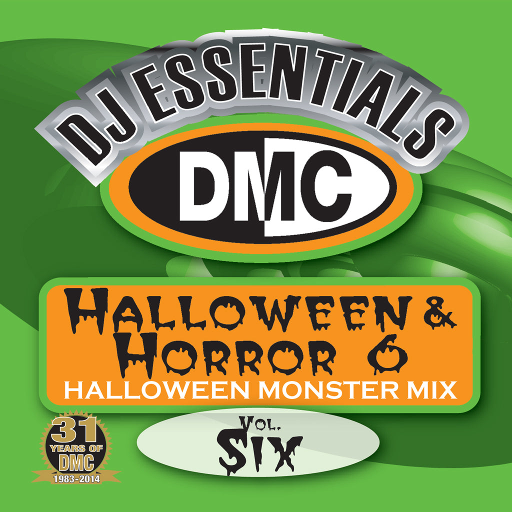 DMC Halloween and Horror Volume 6 - Monster Mix - New Release