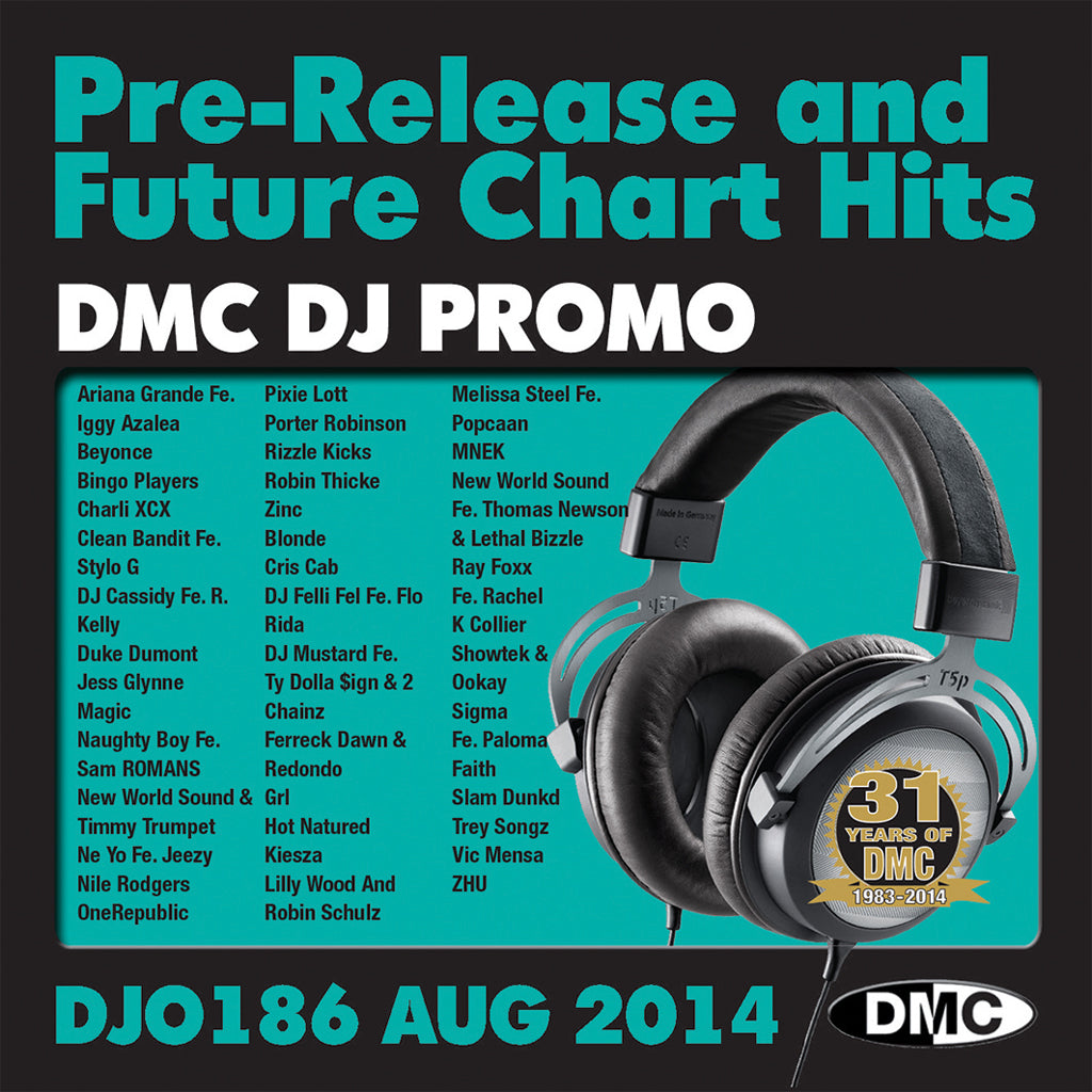 DMC DJ Promo 186 - August Release- Out Now