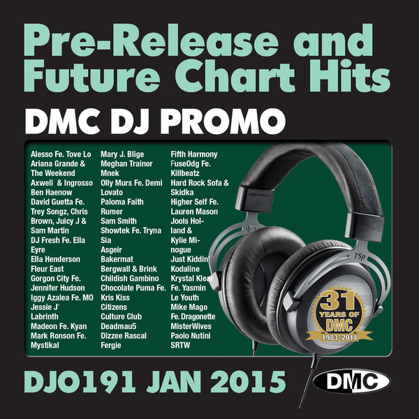 DMC DJ Promo 191 - January 2015 Release