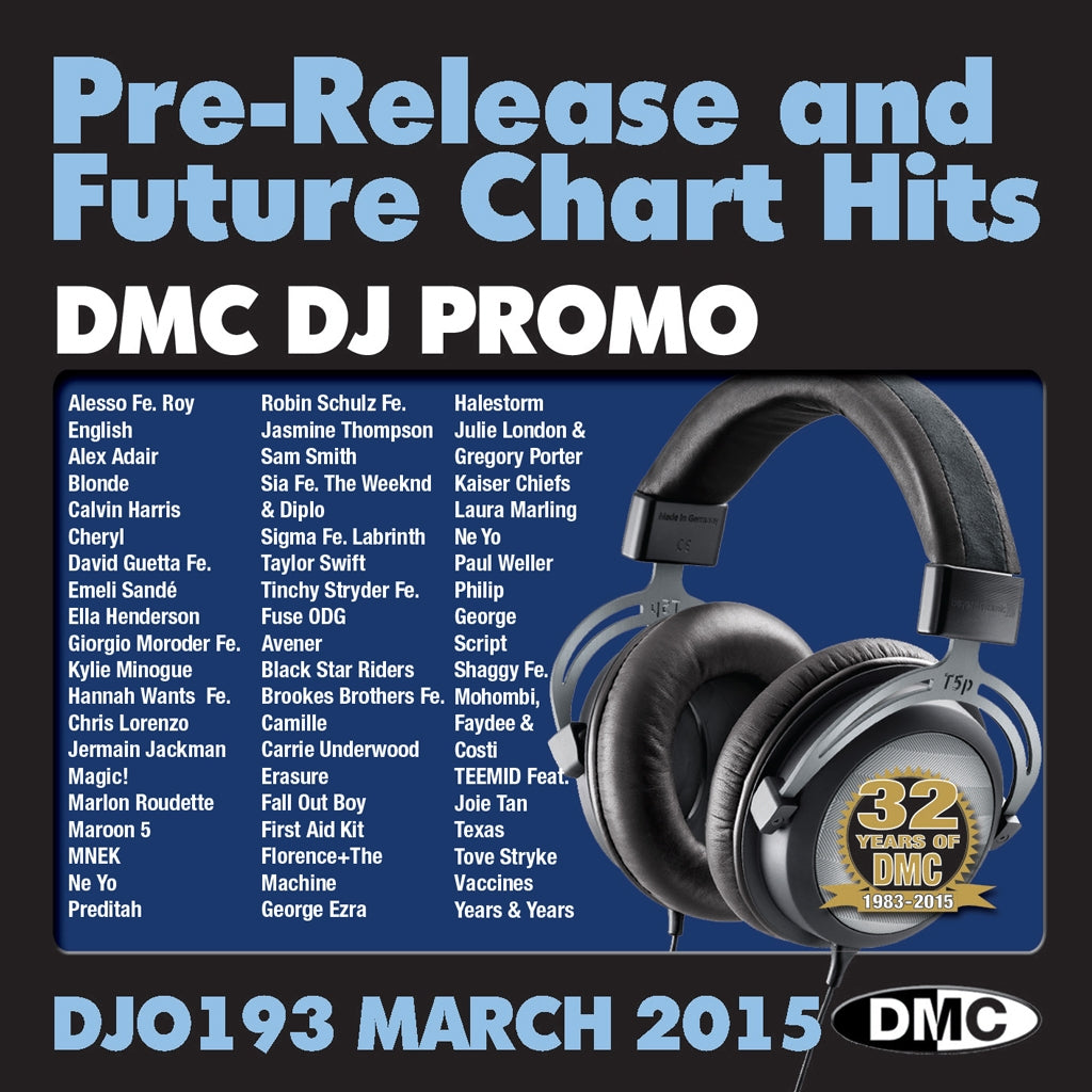 DMC DJ Promo 193 - March Release