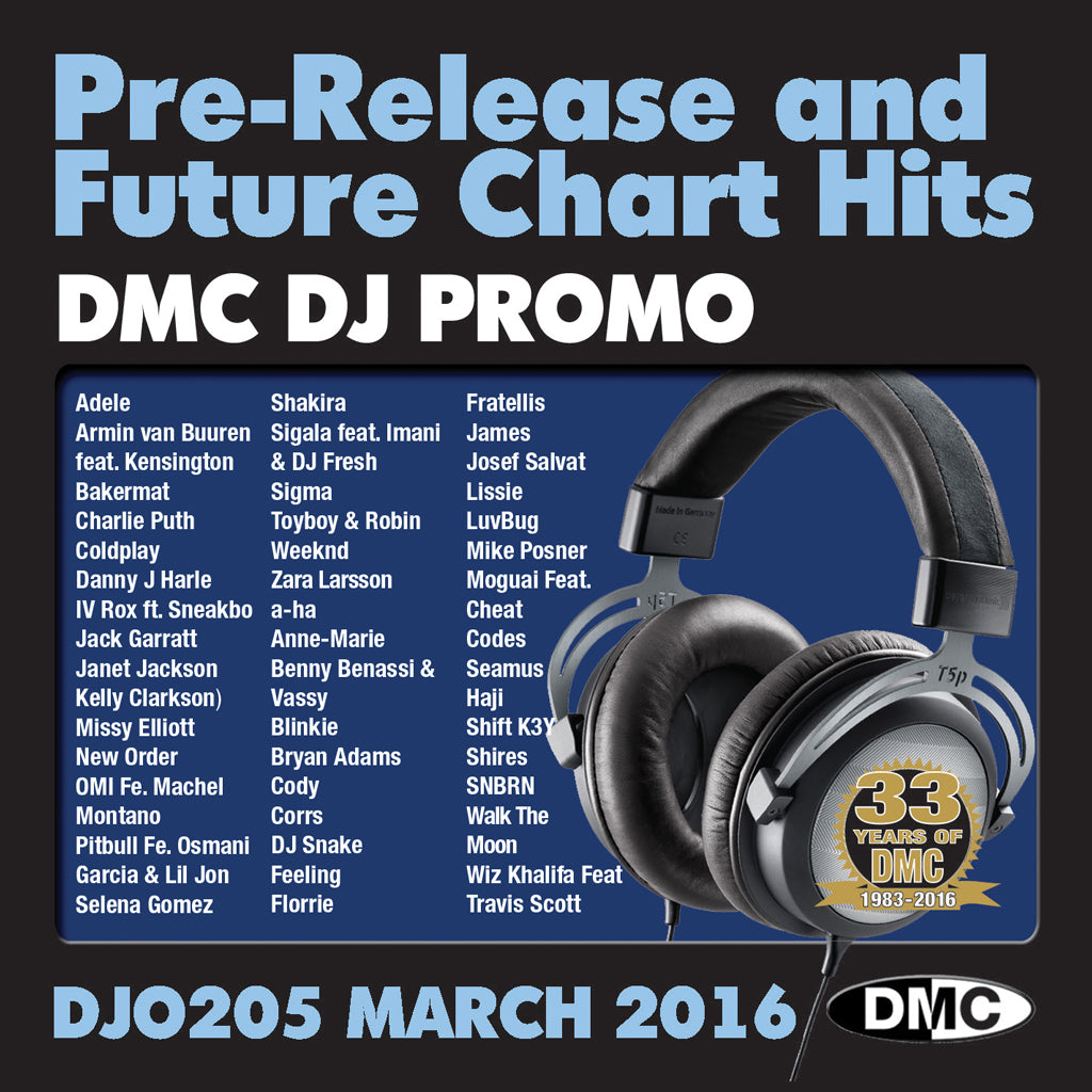 DMC DJ Promo 205 - March 2016 Release