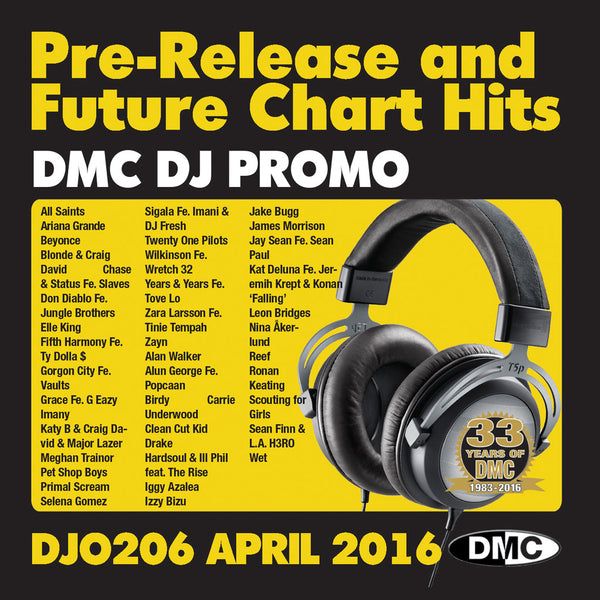DMC DJ Promo 206 - April 2016 Release