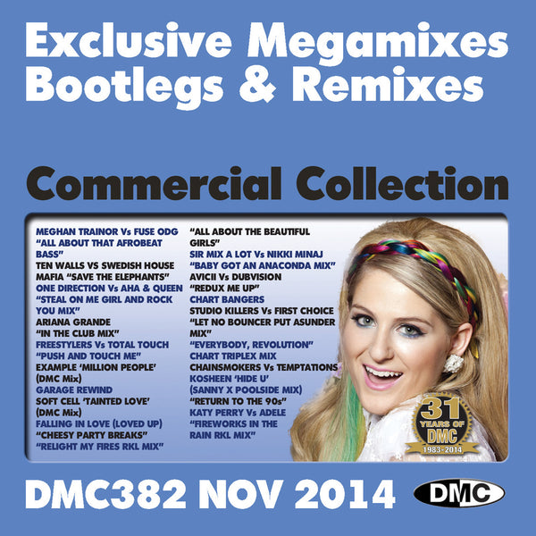 DMC Commercial Collection 382 - November Release
