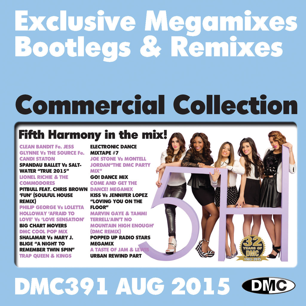 DMC Commercial Collection 391 - August Release