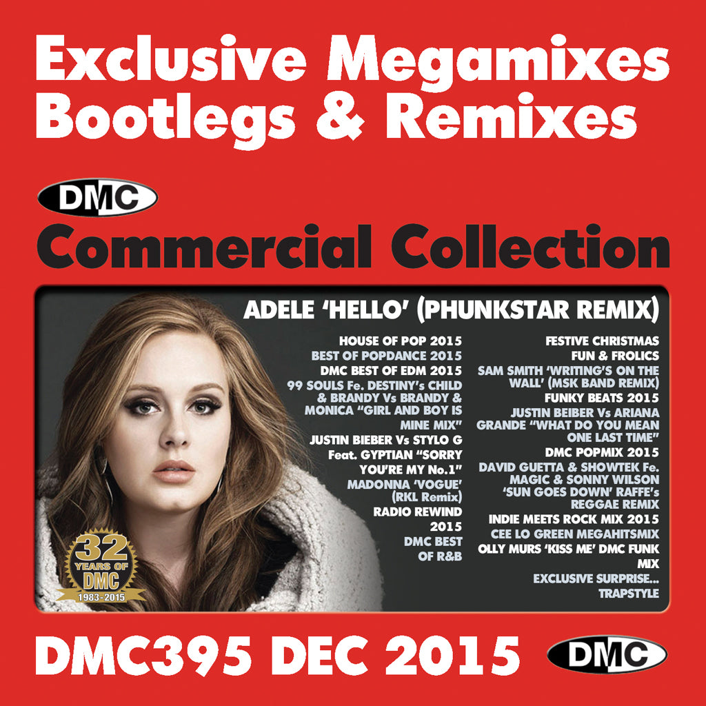 DMC Commercial Collection 395 - December 2015 Release
