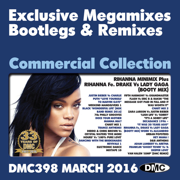 DMC Commercial Collection 398 - March 2016 Release