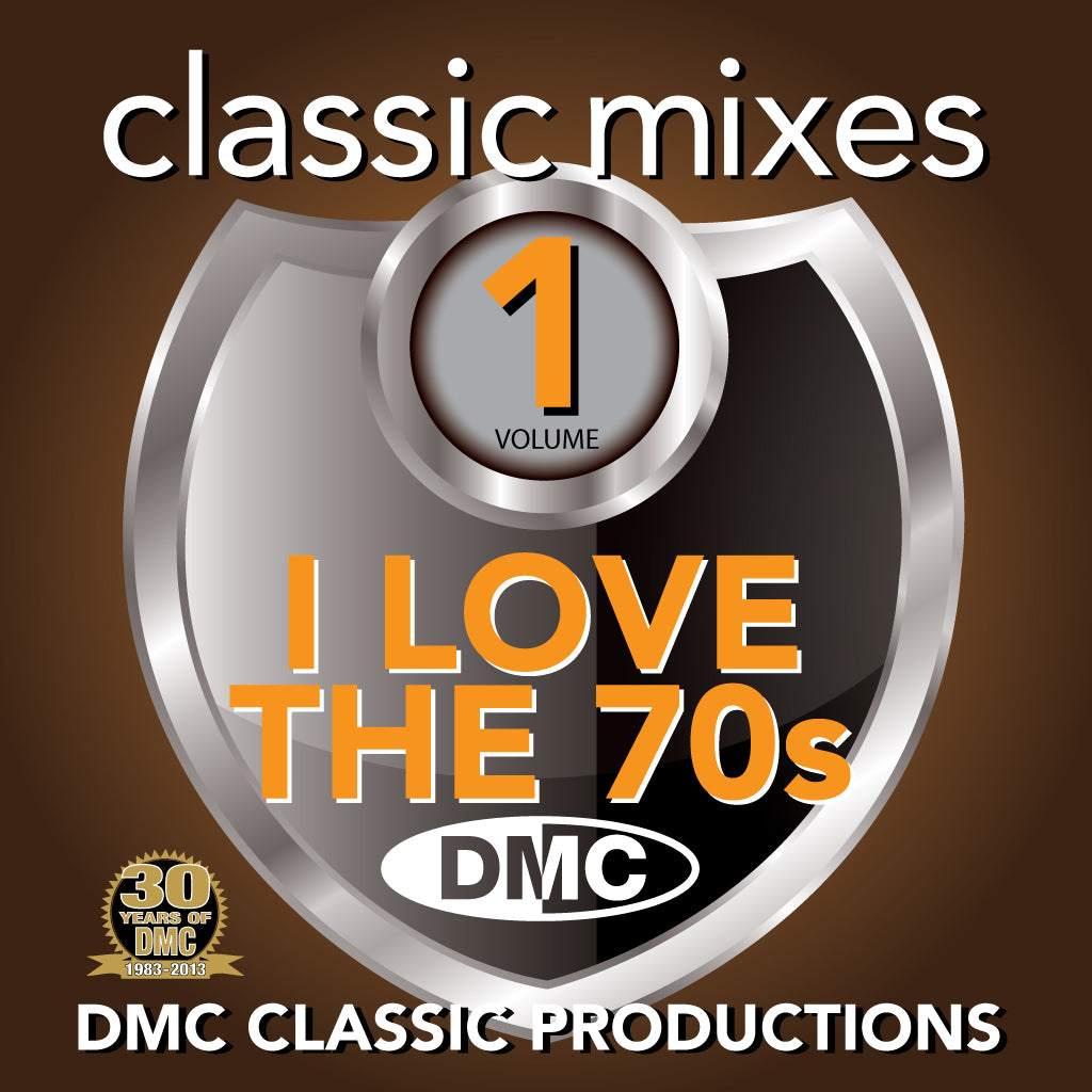 DMC Classic Mixes - I Love the 70s Vol 1 - new release