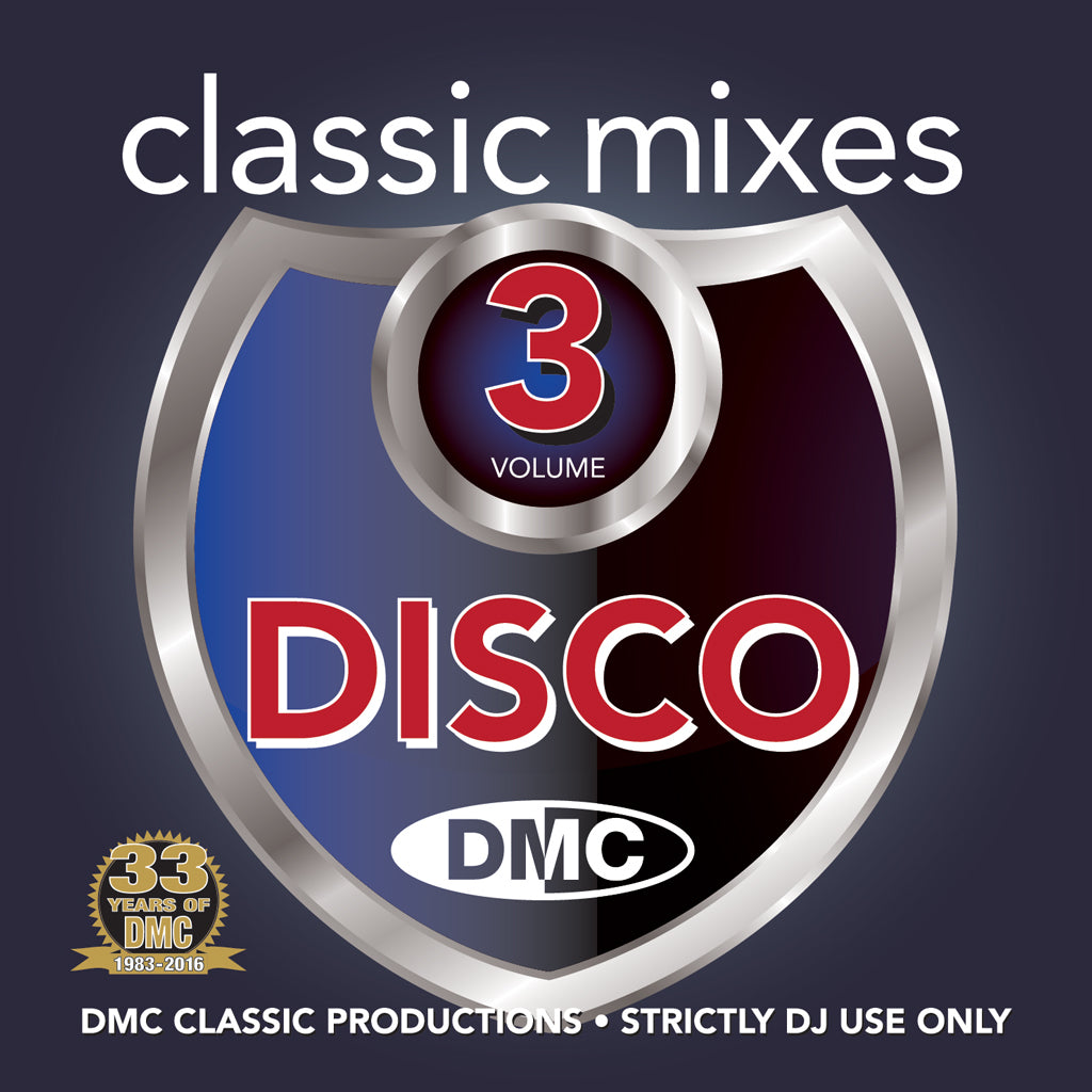 DMC CLASSIC MIXES –  DISCO  Volume 3
