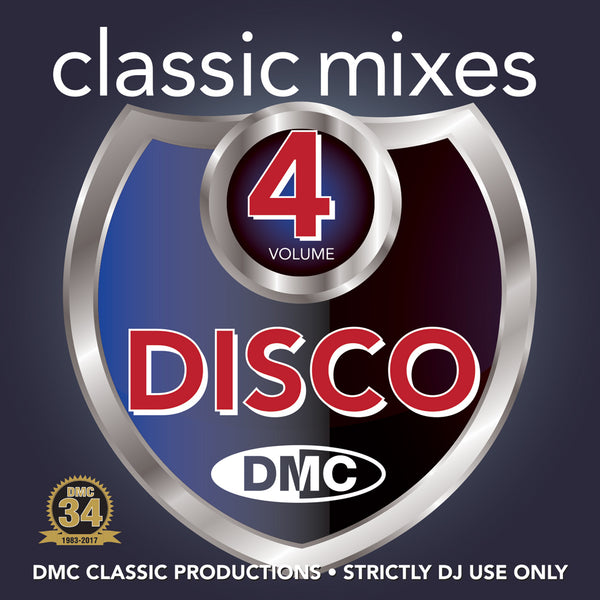 DMC Classic Mixes Disco Volume 4 - June 2017 release