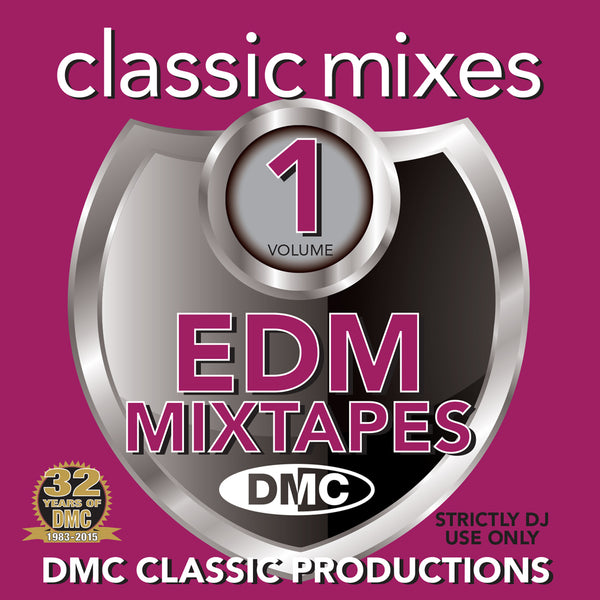 DMC Classic Mixes EDM MIXTAPE VOl.1 - New release November 2015