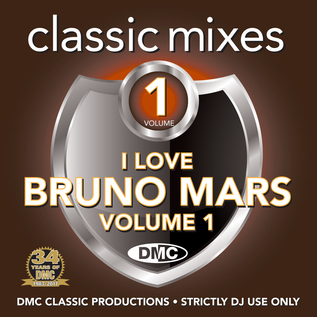 DMC Classics I Love Bruno Mars Volume 1