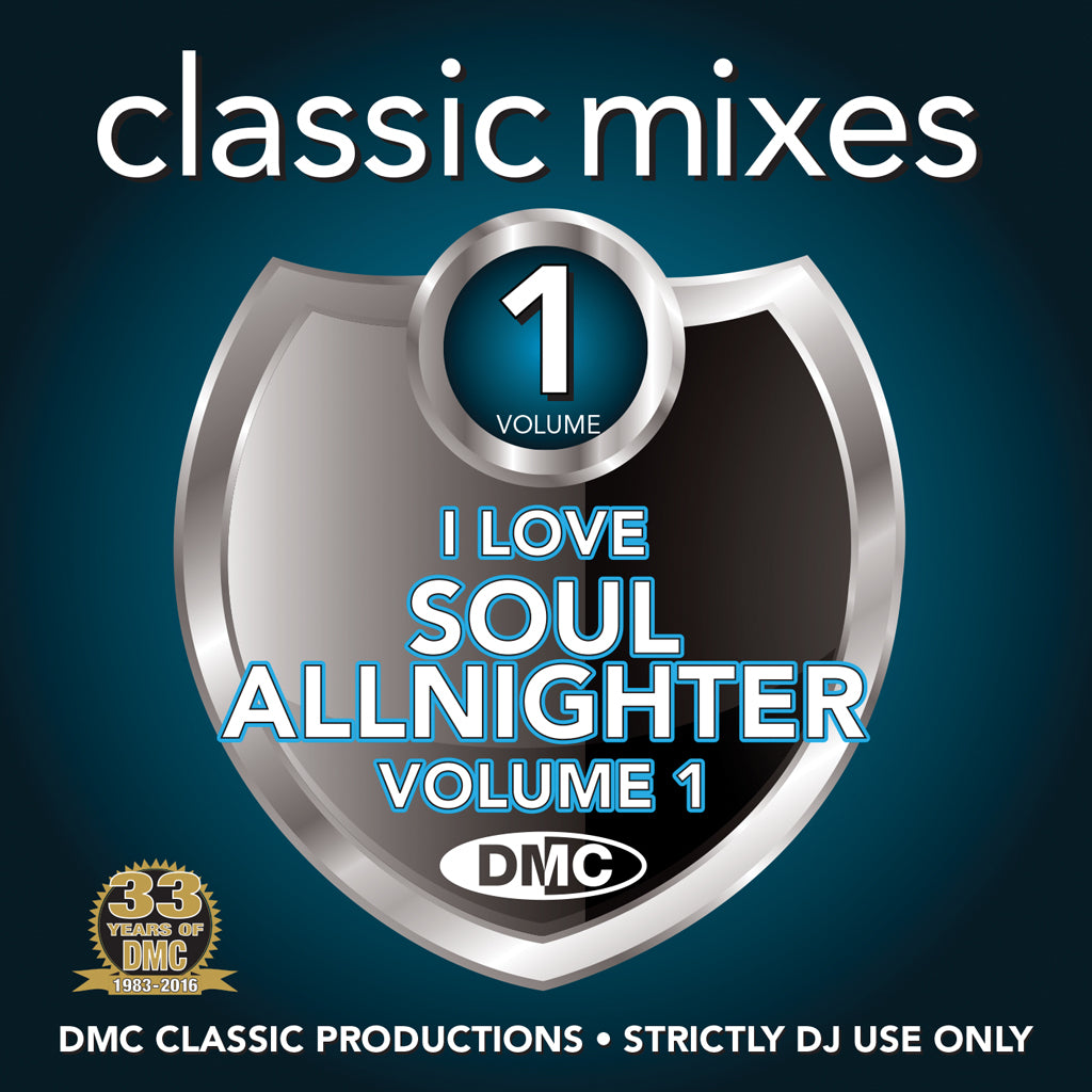 DMC CLASSIC MIXES - I LOVE SOUL ALLNIGHTER VOLUME 1