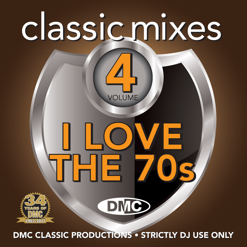DMC Classic Mixes 70s Volume 4 - May 2017 release