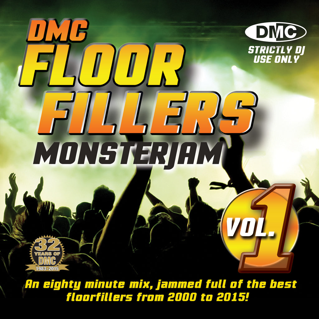 DMC Floorfillers Monsterjam Volume 1 - 2000 to 2015 - New Release