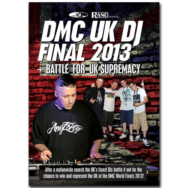 DMC UK DJ Championship Final 2013 DVD