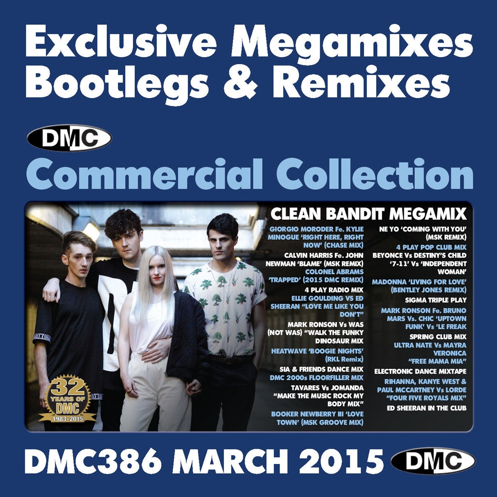 DMC Commercial Collection 386 - March Release