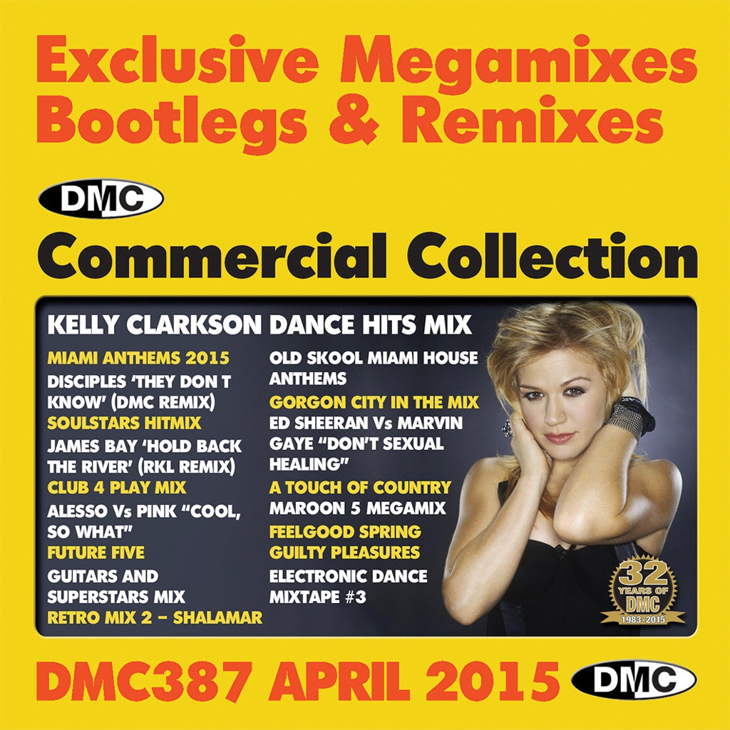 DMC Commercial Collection 387 - April Release