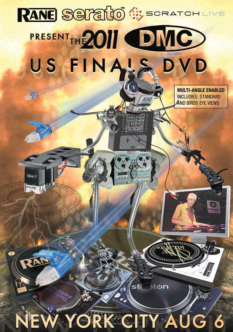 US Finals 2011 DVD