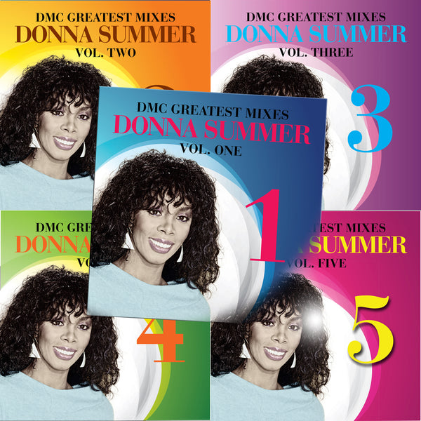Greatest Mixes - Donna Summer - Five Pack