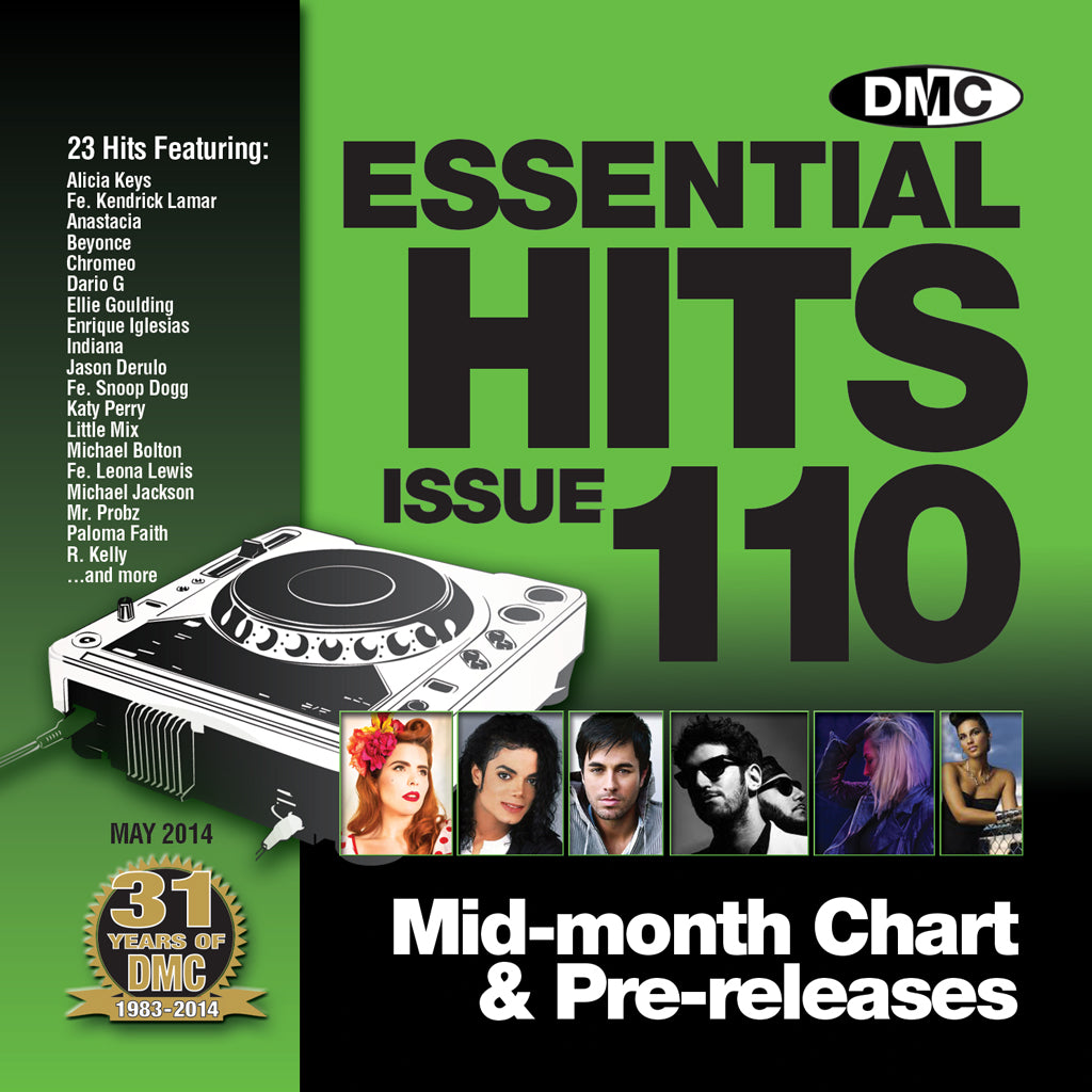 DMC Essential Hits 110 - New Release - Mid Month Chart Releases