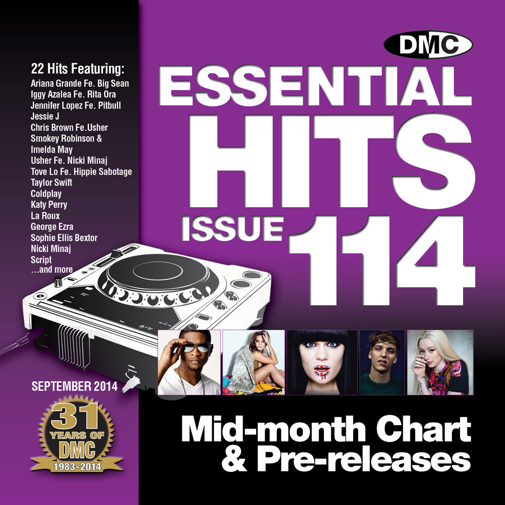 DMC Essential Hits 114 - NEW September Release